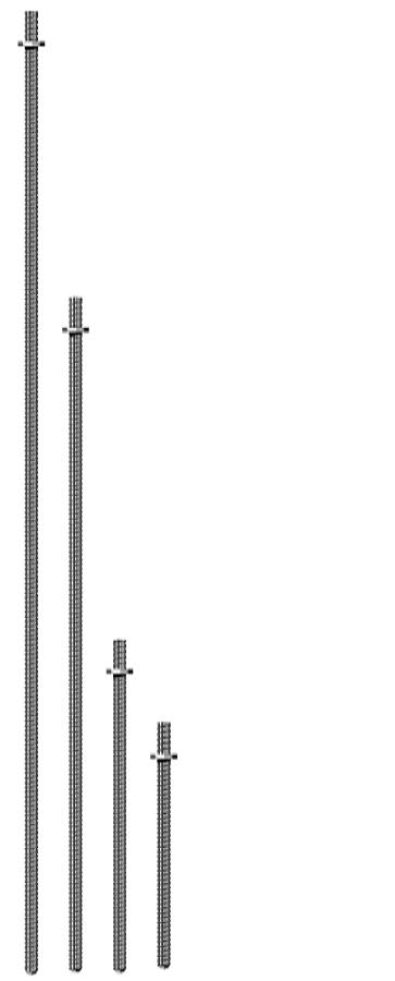 Ground Anchor Sizes